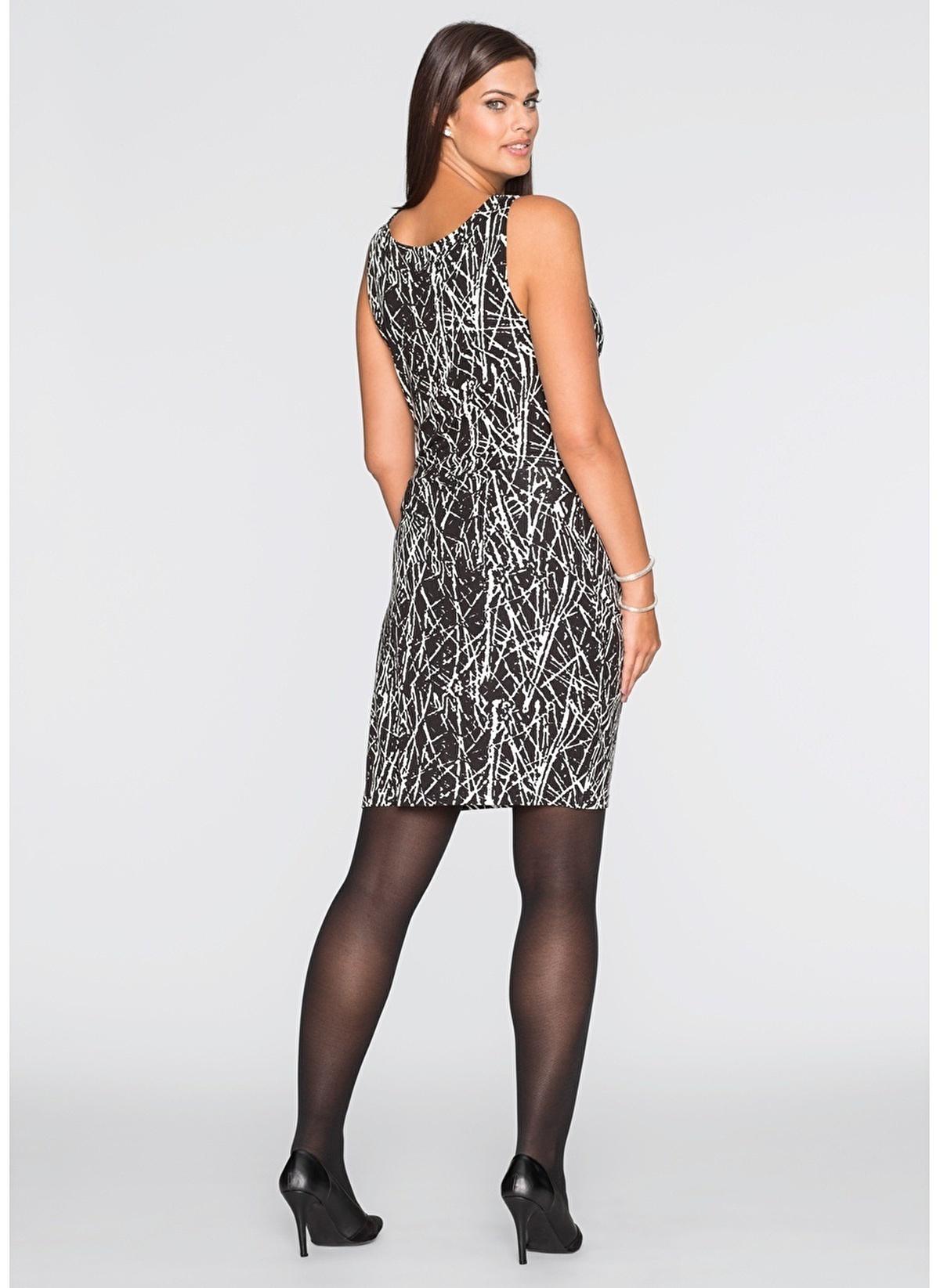 d3938daf8b694 Bonprix Express Kadın Büyük Beden Elbise Siyah | Morhipo | 17175407